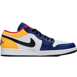Nike Air Jordan 1 Retro Low M - White/Blue