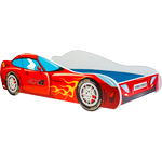 Kobi Racer Car Bed with Mattress 160x80cm
