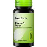 Great Earth Omega 3 Vegan 60 st