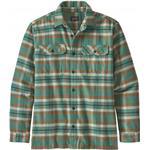 Flanellskjortor Herrkläder Patagonia Fjord Flannel Shirt - Independence/Eelgrass Green