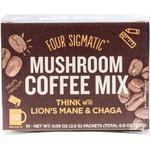 Lion's Mane & Chaga Mushroom Coffee 10 tepåsar