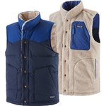 Patagonia Reversible Bivy Down Vest - New Navy
