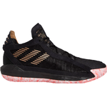 Adidas Dame 6 - Core Black/Signal Pink/Cloud White/Coral