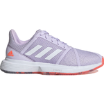 Adidas CourtJam Bounce W - Signal Coral/Purple Tint/Tech Purple