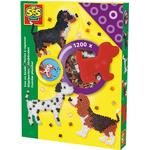SES Creative Iron on Beads Dog Set 1200pcs 00754