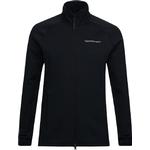 Peak Performance Chill Jacket with Zipper - Black
