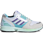 Adidas ZX 8000 - Cloud White/Purple/Light Aqua