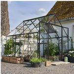 Halls Qube+ 88 6.6m² 3mm Aluminium Härdat glas