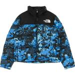 The North Face Women's 1996 Retro Nuptse Jacket - Clear Lake Blue Himalayan Camo Print