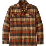 Flanellskjortor Herrkläder Patagonia Fjord Flannel Shirt - Burnished Red