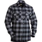 Blakläder Lined Flannel Shirt - Dark Gray/Black