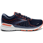 Brooks Adrenaline GTS 21 Wide M - Navy/Red Clay/Gray