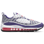 Nike Air Max 98 W - White/Reflect Silver/Black/Racer Pink