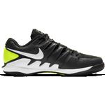 Nike Court Air Zoom Vapor X M - Svart/Volt/Vit