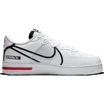 Nike Air Force 1 React M - White/University Red/Black