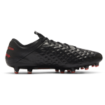 Fotbollsskor Nike Tiempo Legend 8 Elite AG - Black/Chile Red/Dark Smoke Grey