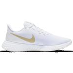 Nike Revolution 5 W - White/Platinum Tint/Metallic Gold Star