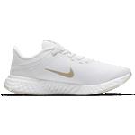 Nike Revolution 5 FlyEase W - White/Platinum Tint/Metallic Gold Star