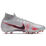 Nike Mercurial Superfly 7 Elite AG - Metallic Bomber Grey/Particle Grey/Laser Crimson/Black