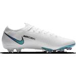 Fotbollsskor Nike Mercurial Vapor 13 Elite FG M - White/Hyper Jade/Flash Crimson