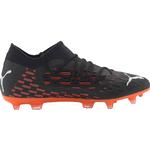 Fotbollsskor Puma Future 6.3 Netfit FG/AG M - Black-White-Shocking Orange
