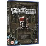 Pirates Of The Caribbean - Dvd Boxset (Includes Pirates 1 2 (DVD)
