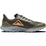 Nike Air Zoom Pegasus 36 M - Sequoia/Medium Olive/Particle Grey/Orange Trance