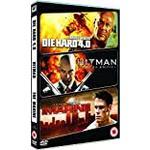 Die Hard 4.0 Filmer Action Packed Triple - Die Hard 4.0 / Hitman Extreme Editio (DVD)
