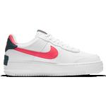 Nike Air Force 1 Shadow W - White/Solar Red/White/Dark Teal Green