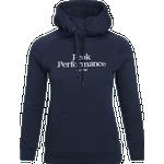 Peak Performance Original Hood Women - Blue Shadow