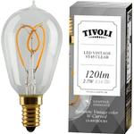 Tivoli Vintage LED Lamps 2.7W E14