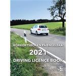 Körkortsboken på engelska 2021 / Driving licence book
