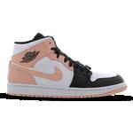 Nike Air Jordan 1 Mid M - White/Black/Arctic Orange