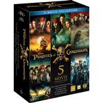 Pirates Of The Caribbean 5-Movie Collection (Blu-Ray)