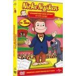 Nicke nyfiken film Nicke Nyfiken Scenarbetaren Nicke Nyfiken Och Andra ÄVentyr (DVD)