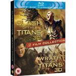 Wrath of the Titans Filmer Clash Of The Titans/wrath Of The Titans - Double Pack (3d Bl (3D Blu-Ray)