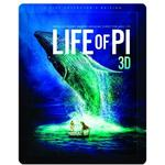 3d filmer Life Of Pi - Limited Edition Steelbook (Blu-ray 3d + Blu-ray (3D Blu-Ray)