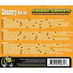 Zoom Karaoke - Zoom Karaoke CD+G - Country Superhits - Triple CD+G Karaoke Pack