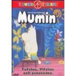 Mumintrollen dvd Filmer Mumintrollen Tofslan Vifslan Och Presenten (DVD)