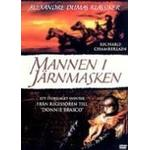 Mannen med järnmasken blu ray Filmer Mannen I Järnmasken (DVD)