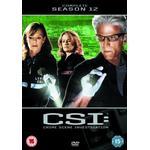 Csi Filmer Csi - Crime Scene Investigation The Complete Season 12 (DVD)