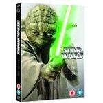 Star wars film blu ray Star Wars Prequel Trilogy (DVD)