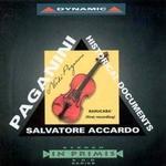CD-skivor Paganini: Historical Documents