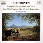 Beethoven - Stråkkvartett Op 131/135