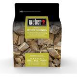 Rökspån Weber Apple Smoking Wood Chunks 17616