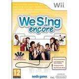 We sing wii Nintendo Wii-spel We Sing: Encore
