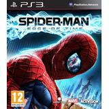 Playstation 3 spiderman PlayStation 3-spel Spider-Man: Edge of Time