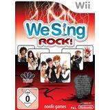 We sing wii Nintendo Wii-spel We Sing Rock!