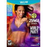 Nintendo Wii U-spel Zumba Fitness: World Party