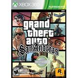 Xbox 360-spel Grand Theft Auto: San Andreas